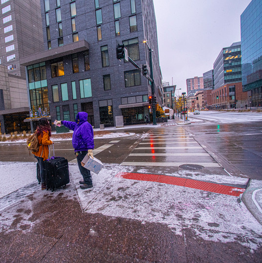 CSG de-icing for sidewalks and steps