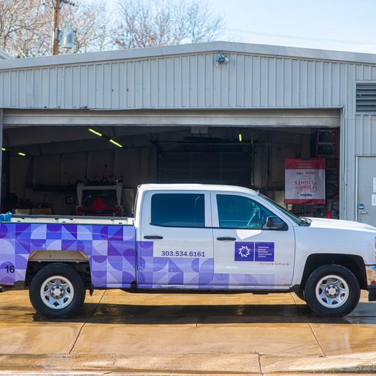 CSG Fleet: Downtown Denver Partnership Truck