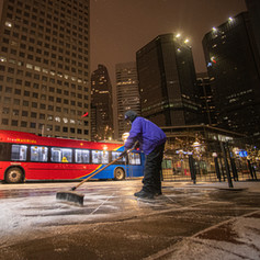 CSG snow removal services