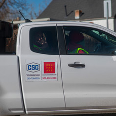 CSG team keeps Colfax Business Improvement District clean and in good repair.