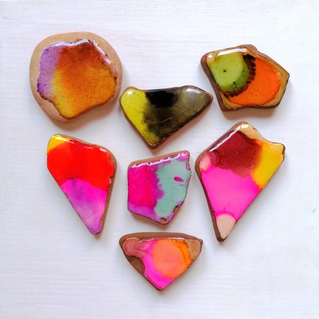 Playful heart- Mosaic heart