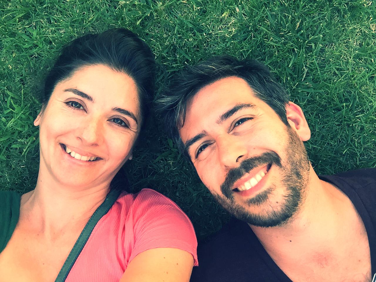 Sonreír a la vida juntos