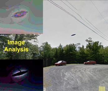 Unknown Over Nova Scotia