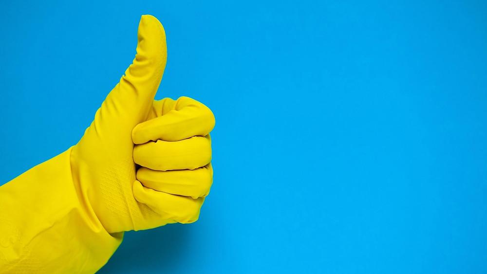 Probiotics clean more effectively