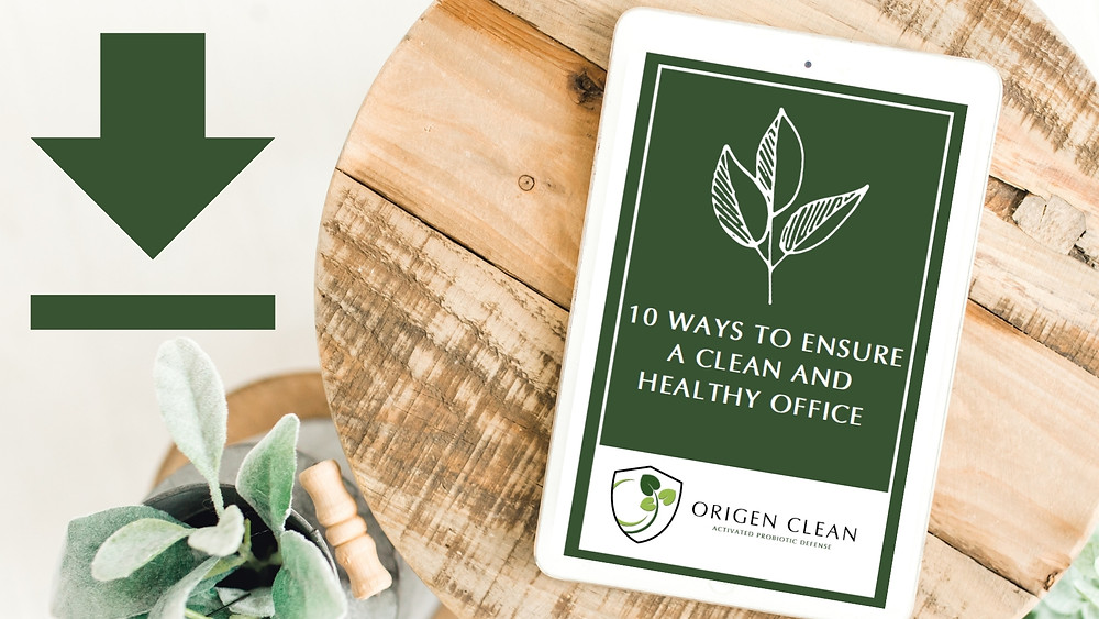 Download e-book on how to ensure a clean and healthy office