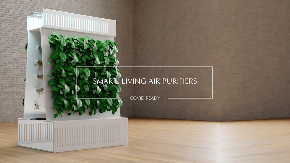 Smart air purifiers for Covid-19