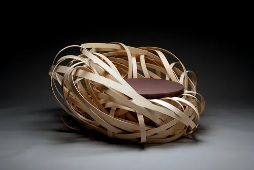 Beauty and Biophilia nest chair