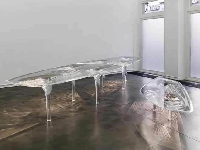 Beauty and Biophilia glacial table