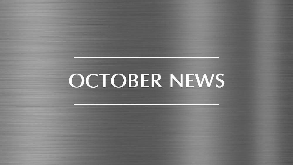 October news for Origen Clean