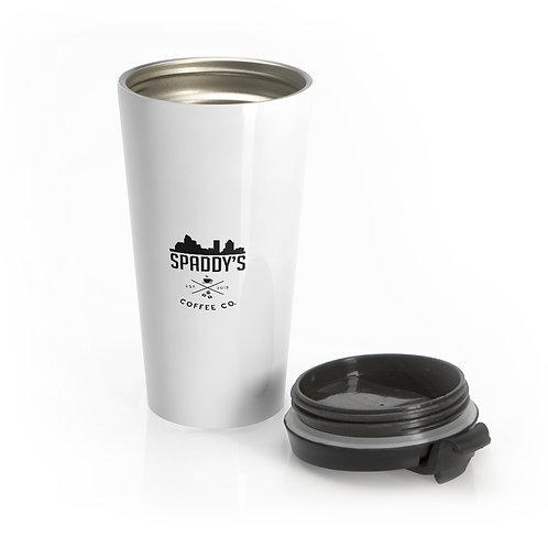 Stainless Steel Travel Mug OG black logo