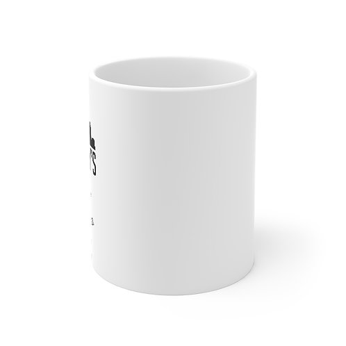 OG logo black 11 oz mug