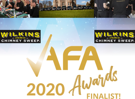 Wilkins Chimney Sweep reaches finals of Approved Franchise Association Awards