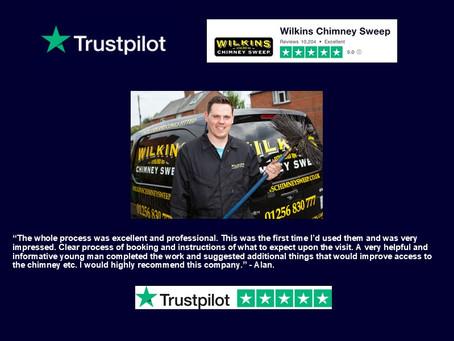 Wilkins receives 10,000 Trustpilot reviews!