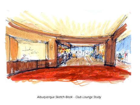 Albuquerque Casino Sketchbook