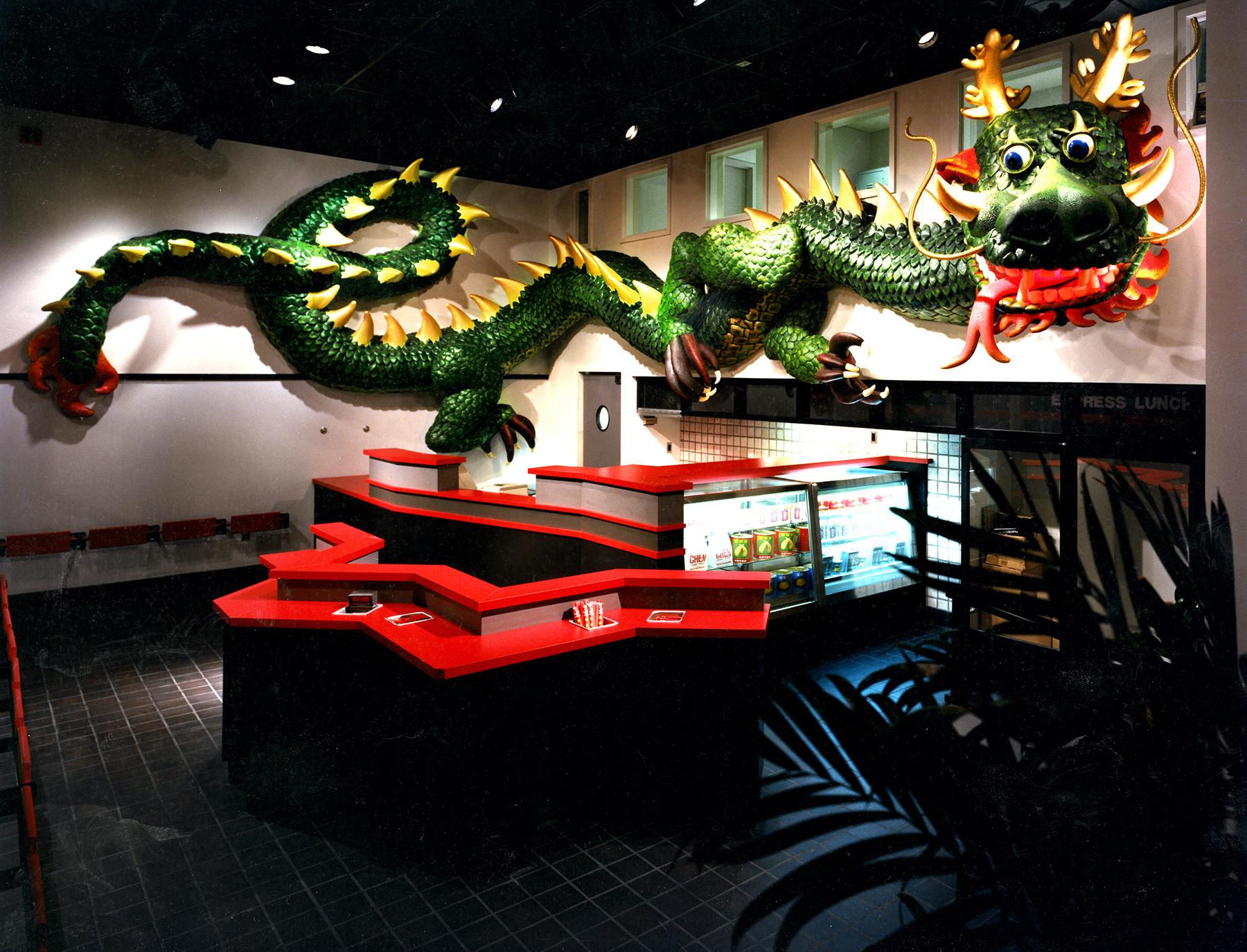 Take Out Area - Dragon