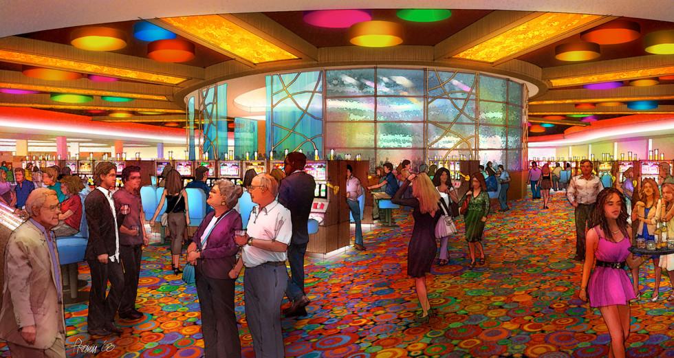 Magic City Casino - Center Bar