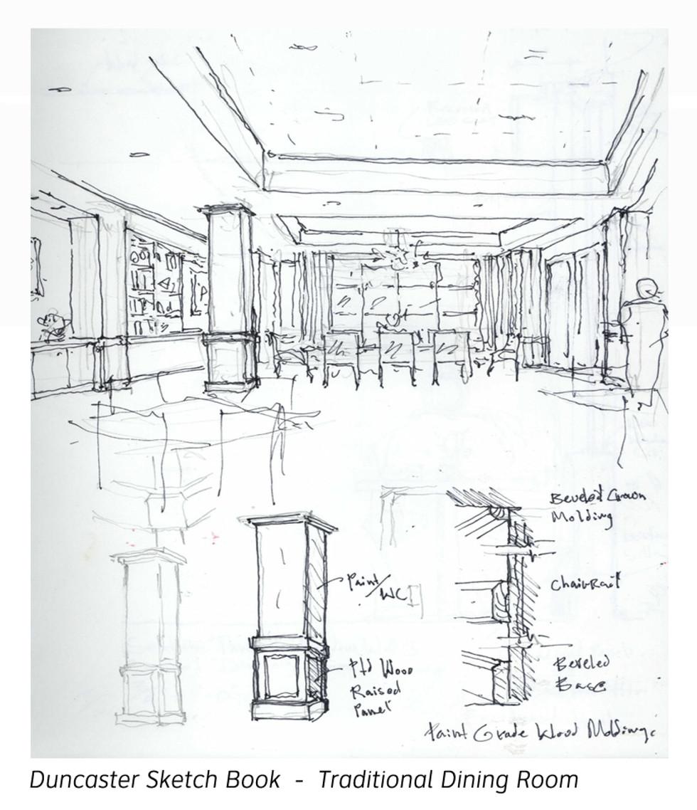 Formal Dining Room Study