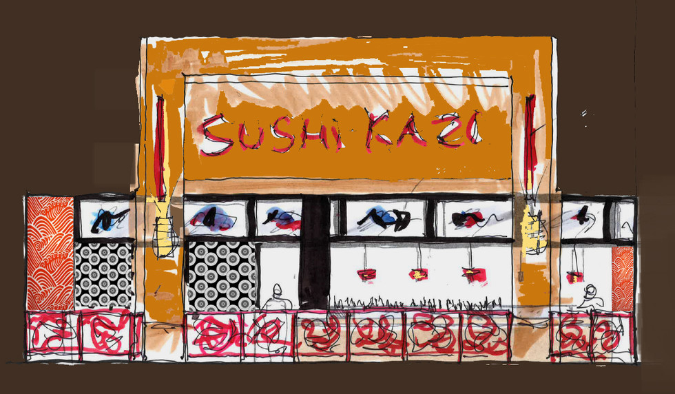 Sushi Kazi Concept