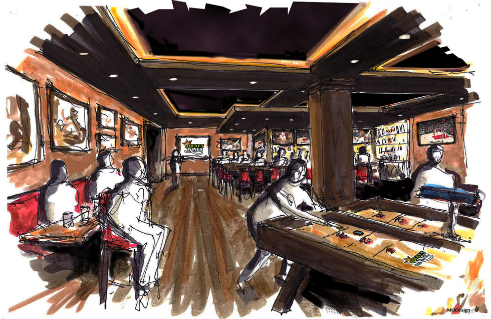 DK Sporting Lounge - Private Events Room