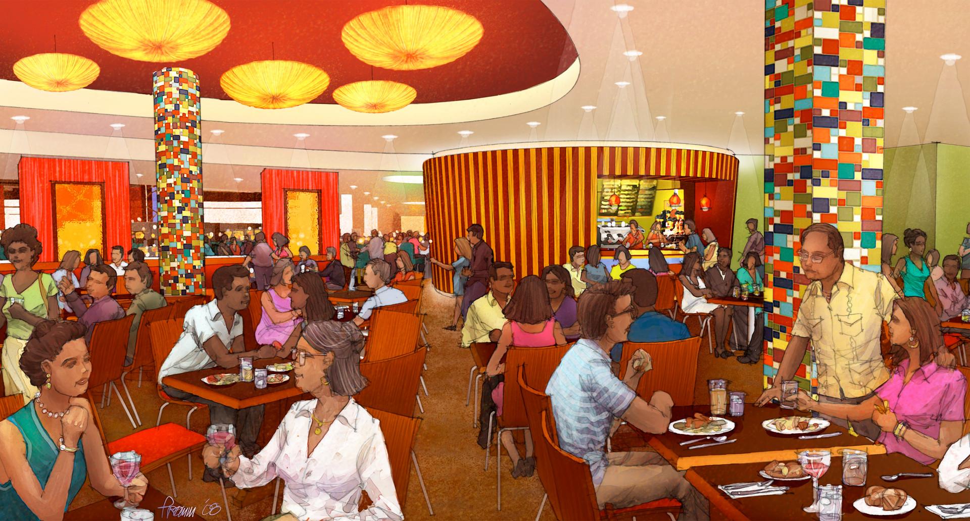 Magic City - Food Court