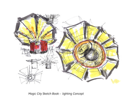 Magic City Sketchbook