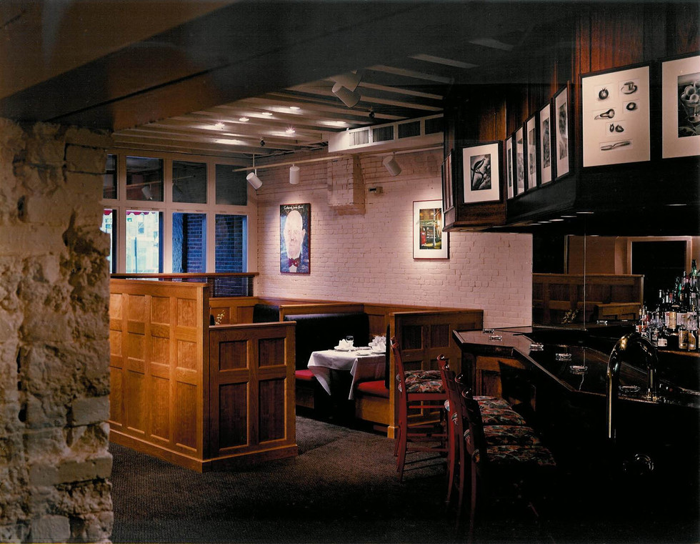 Bar with Booths
