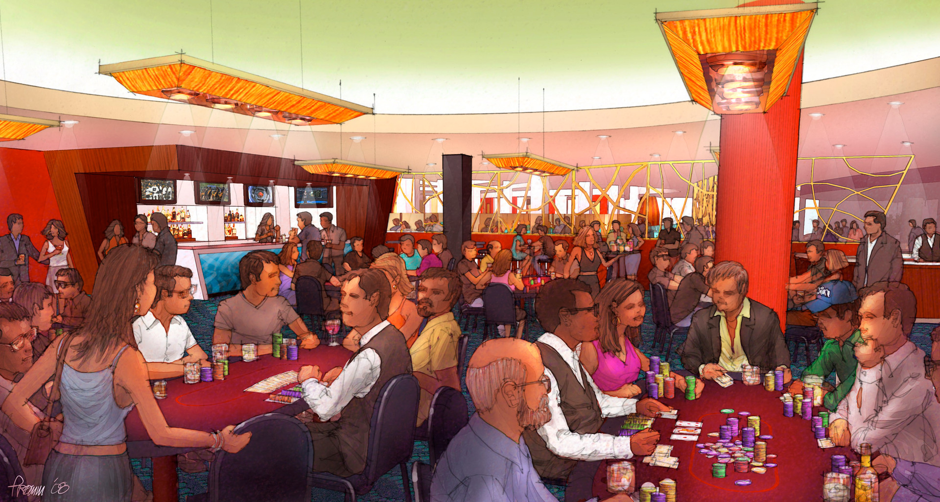 Magic City Casino - Poker Room