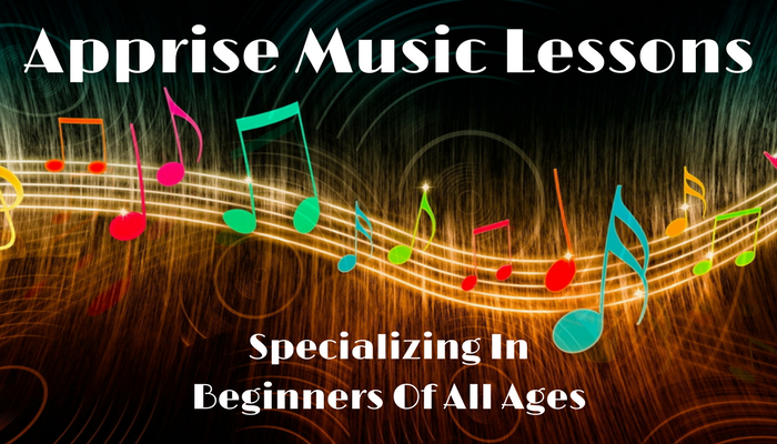Apprise Music Lessons Logo Front Page