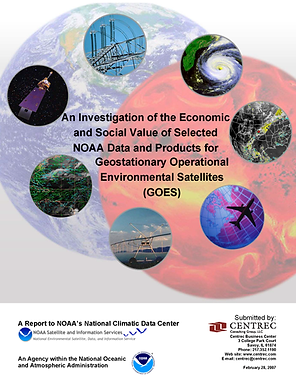 An Investigation of the Economic and Social Value of Selected NOAA Data and Products for GOES