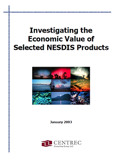 The report provides information that will be useful to NESDIS leaders regarding the types of applications that generate value for society, including explicit monetary values.