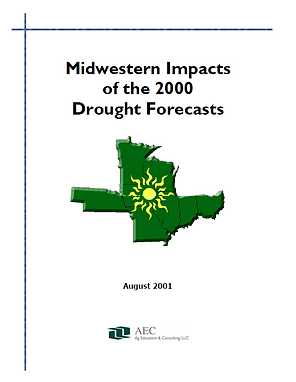 Midwestern Impact of the 2000 Drought Forecasts