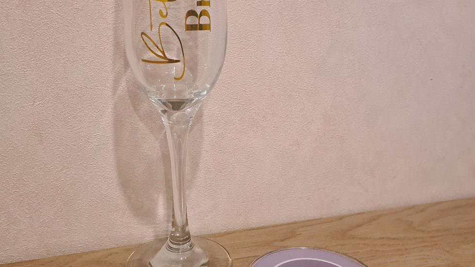 Wedding Party Champagne Flute