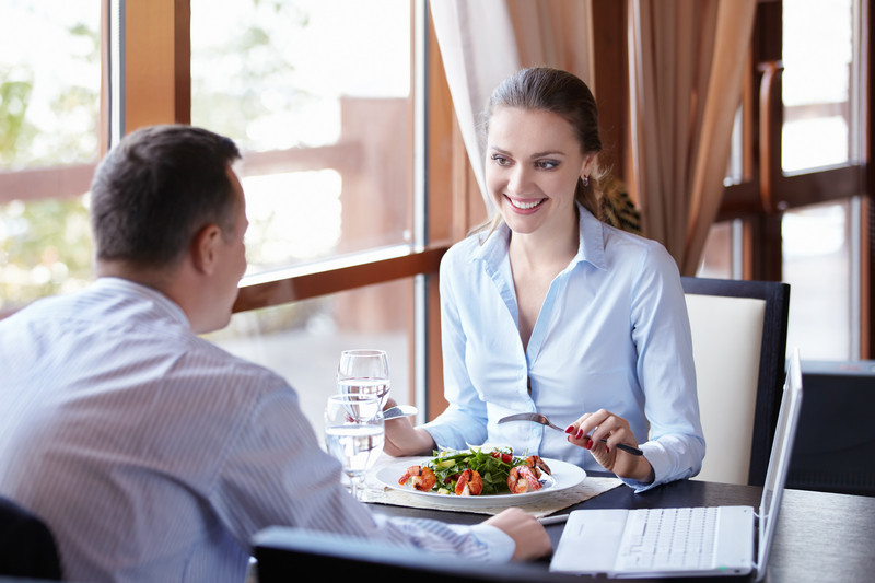 one-on-one lunch meetings