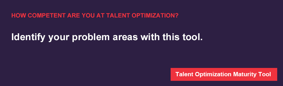 Talent Optimization Maturity Tool