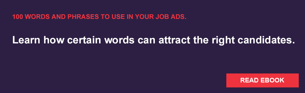 Words and Phrases to use in your job ads