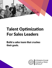 Talent Optimization for Sales Leaders