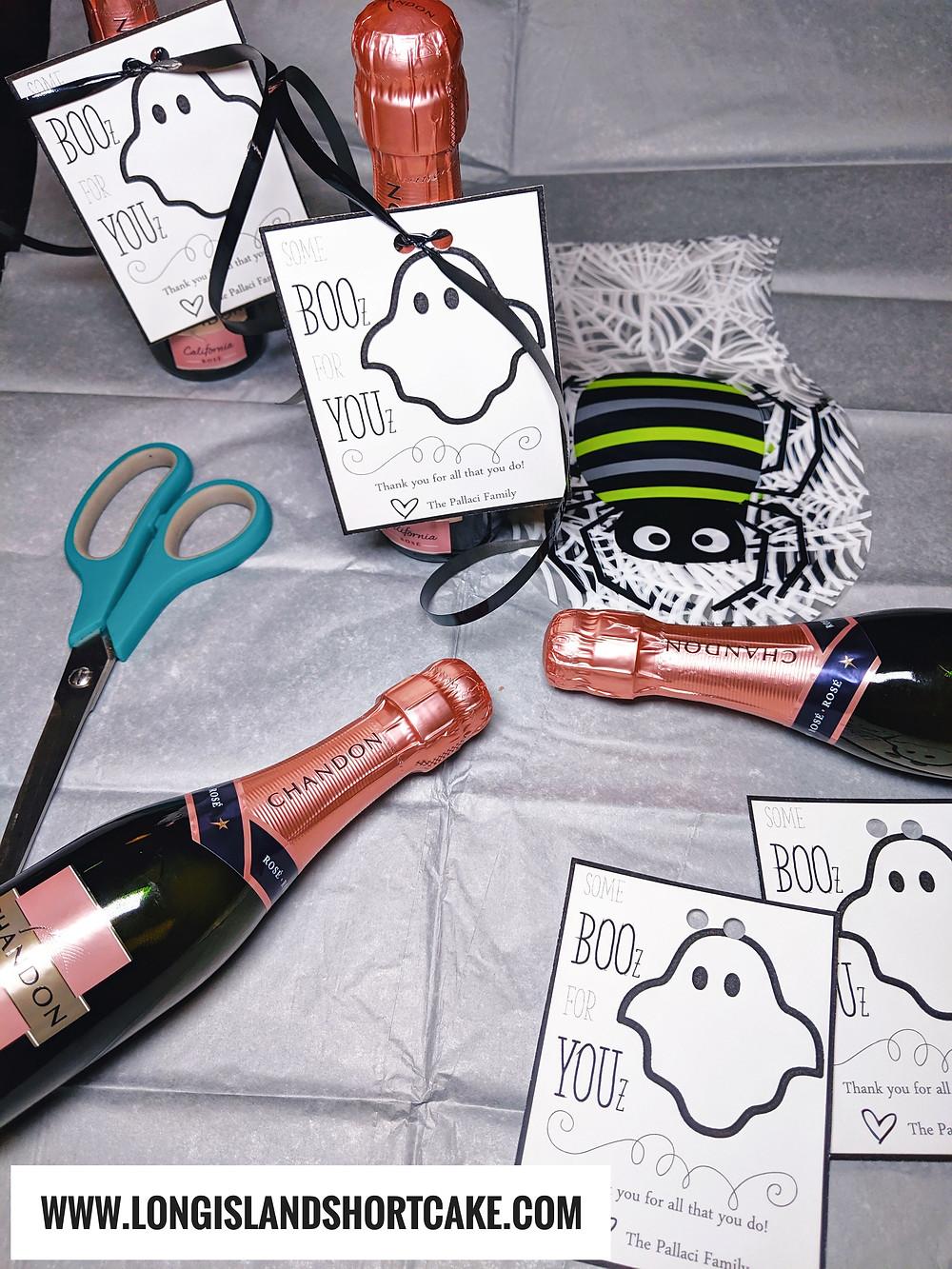 BOOz for YOUz Halloween Teacher Gift