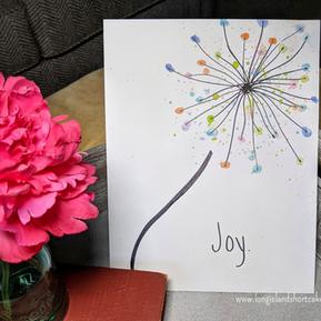 Colorful Dandelion Art Project for Kids