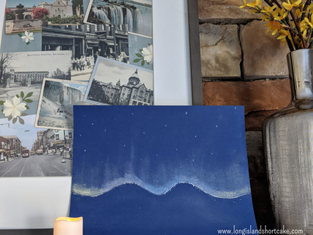 Aurora Borealis Art Project for Kids