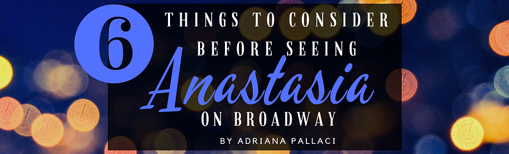 Anastasia on broadway - long island shortcake