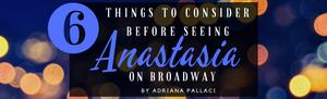 Anastasia on broadway - long island shortcake