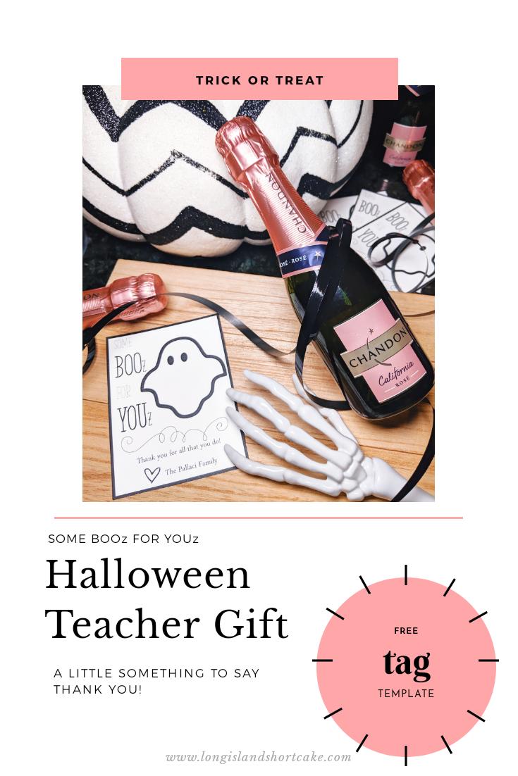 BOOz for YOUz Halloween Teacher Gift - pinterest image