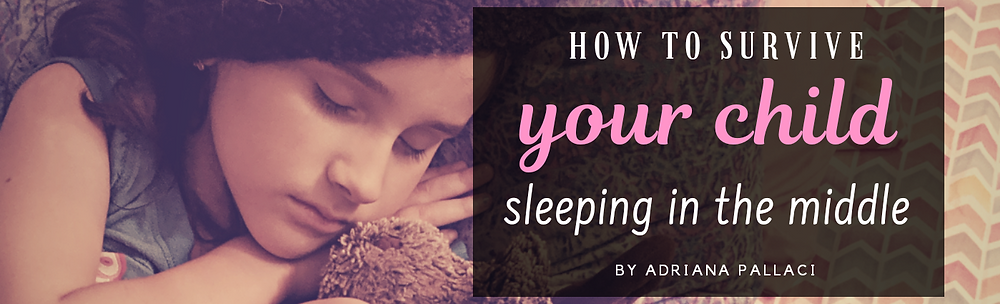 how to survive your child sleeping in the middle