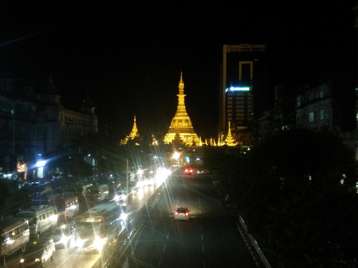Day 66: What you do in Yangon when you can't get a hotel