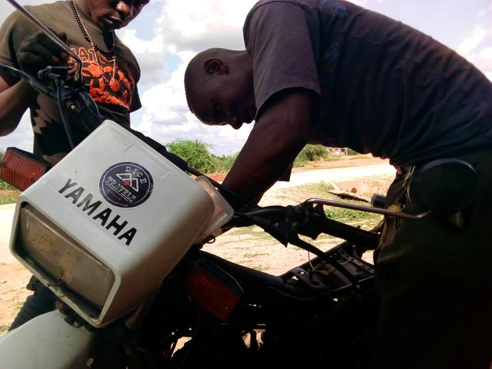 Day 341: Motorcycle Throws Tantrum, Again