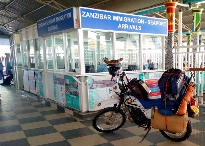 Day 309: 'No Passport' Hustle into Zanzibar
