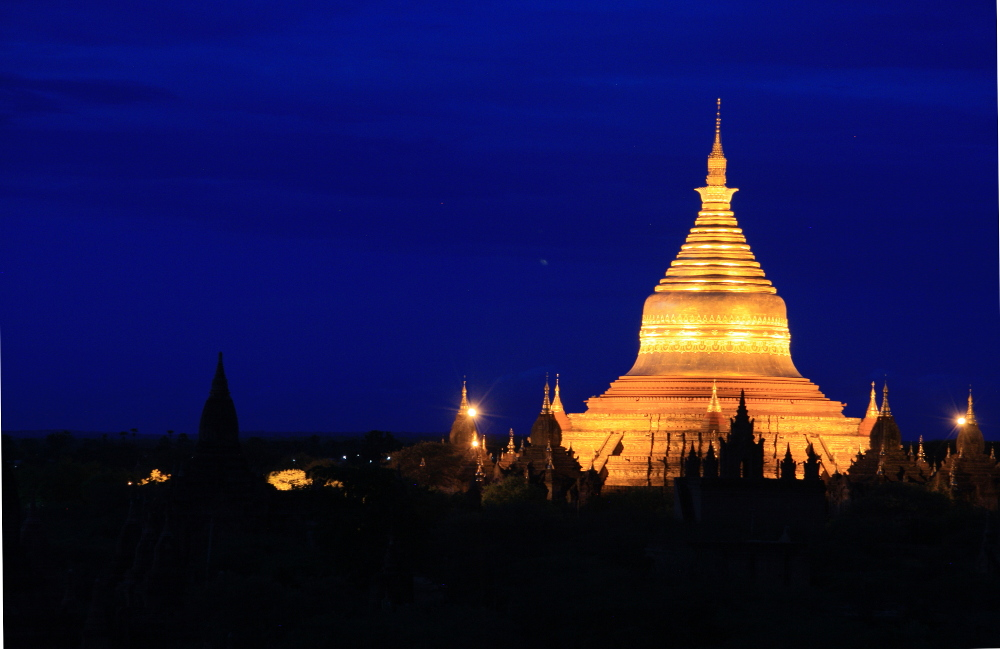Bagan pagoda in Myanmar
