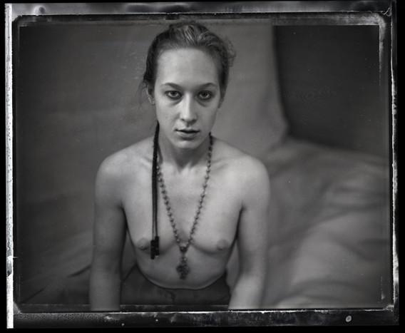 Nancy Burgess in Repose, Early 90's