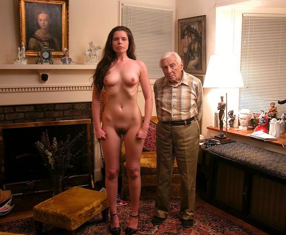 Larry & Maela Standing in his living room, Cherry Lane, NJ