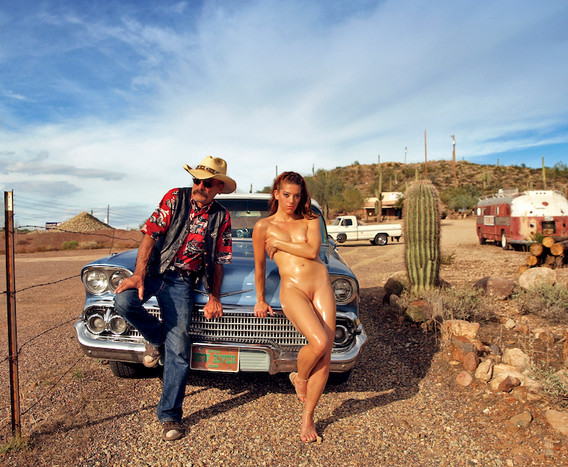 Maia and Cowboy, Anthem, AZ early 2010's